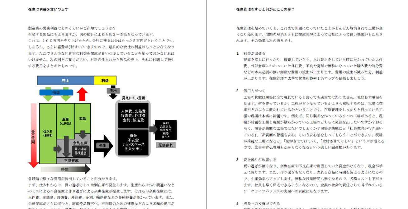在庫管理の教科書01「在庫管理を知る」の内容
