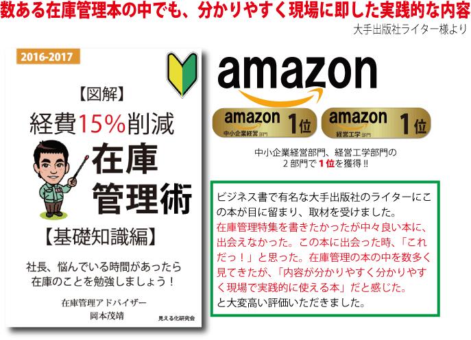 経費15%削減 在庫管理術【基礎知識編】